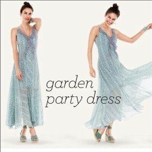Cabi Garden Party Maxi Dress 5104 Boho Sle…